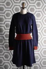 NWT Marc by Marc Jacobs Jayden Saddle Sleeve Dress Large India Ink $368