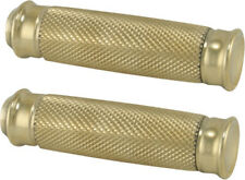 Alloy Art Vice Footpegs Brass for Harley Davidson VFP-3