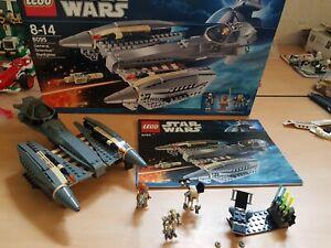 Vaisseau Lego star wars 8095 complet  general grievous starfighter
