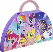 50pc My Little Pony Carry Along Art Case Kids Girls Drawing Painting Travel Toy