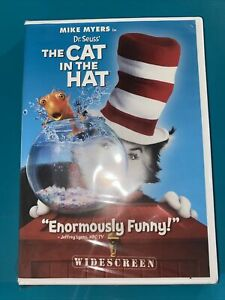 Dr. Seuss The Cat in the Hat (DVD, 2004, Widescreen Edition) NEW