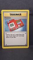 Pokedex 87 Base Set Uncommon Pokemon Card Near Mint