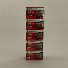5 rolls of AGFA Agfachrome CT Precisa 100  |  135-36 35mm slide film E6 CTX