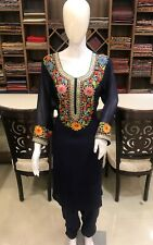 Zari & Aari Fusion Kashmiri Woman Suit Designer Indian Ethnic Wear Salwar Suit