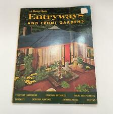Vintage Sunset Book Entryways and Front Gardens (1st Edition, 1969 Printing)