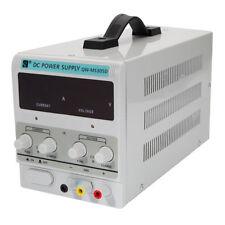 QW-MS305D DC30V 5A 220V Adjustable Power Supply Precision Digital Lab w/EU Plug