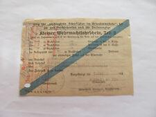 Kleiner Wehrmachtfahrschein,Teil 2,Antwerpen - Oberwiesenthal. Einheit 05239