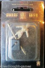Dwarf Tales Lid Youngblood with Bone Spear #2 40mm female miniature OOP