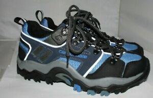 Cannondale woman's bicycling bike mountain shoes 8.5 Eur 39 blue 2001 2 bolt