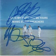 """Manic Street Preachers Autogramme signed CD Booklet """"This Is My Truth Tell Me.."""""""