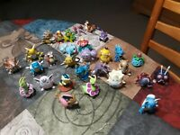 Lot of 29 VINTAGE Pokemon Tomy Figures lot sold as is