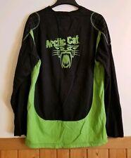 VTG Arctic Cat Racing Arctic Wear Long Sleeve Pullover Padded Racing Shirt Large