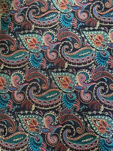 Osborne And Little Embroidered furnishing fabric - Paisley