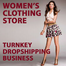 Women's Clothing Dropshipping Store - Turnkey Business Website