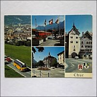 Chur Switzerland Postcard (P436)