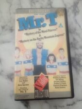 MR. T mystery Of The Mind Thieves, Mystery On Roc VHS VIDEO - Animated Episodes