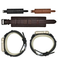 38mm Cowhide Watch Strap Band Belt Watchmaker Watchband Replacement High Quality