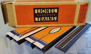 "Lionel 0032 x10 2 Rail Scale ""OO"" GAUGE straight track rare box inserts MOB 1939"