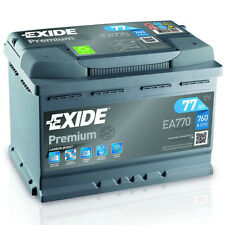 Exide Premium Carbon Boost 77AH 760A 12V Autobatterie EA770 (Neues Modell 2015)