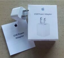 5W Genuine Wall Charger 5V 1A USB Power Adapter US plug for iPhone iPod