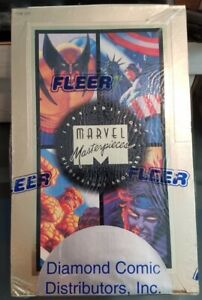 1994 Fleer Marvel Masterpieces Hildebrandt Brothers Factory Sealed Box