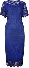 Vestiti da donna a manica corta blu stretch