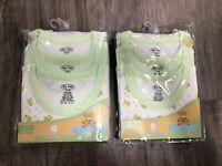 Big Oshi Unisex Baby 6-Pack Sleeveless Body Suits, 12-18 Months, NIP Free Ship