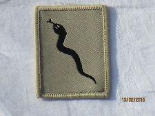 101 Logistic Brigade , Patch , TRF,khaki ,Abzeichen, Black Adder