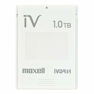 maxell hard disk White iVDR-S standard removable 10TB simple packaging JAPAN