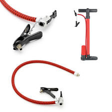 Bicycle Bike Tyre Tire Hand Air Pump Inflator Replacement Hose Tube Rubber Tool