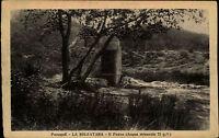 Pozzuoli Italien Italia Kampanien AK ~1920/30 La Solfatara Il Pozzo Brunnen Wald