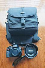 NICE Nikon D5100 16.2 MP Digital SLR Camera with Sigma 24-60mm Lens and Bag