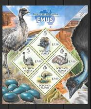 SOLOMON ISLANDS 2013 EMUS (1) MNH