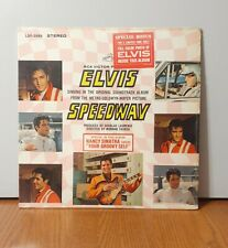 Elvis Presley Speedway LP & bonus photo, promo use only.
