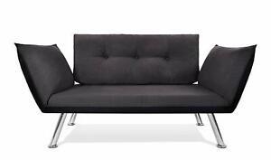 Schlafsofa Sofa 2 Sitzer 2er Klein Zweisitzer Couch mit Schlaffunktion 2. Wahl