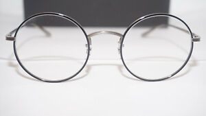 Oliver Peoples Eyeglasses RX AFTER MIDNIGHT Round OV1197ST 50761W 49 22 145