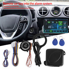Car Alarm System Remote Control Central Door Lock Wireless Entry System Kit Ow