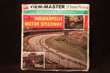 """Indianapolis Motor Speedway Viewmaster 1973 """"Rare"""" SEALED """"Andretti,Donohue"""""""