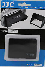 LCD hood screen protector 3 Inch LCD Screen Black For Olympus Pen EPl7 EPL6 OMD