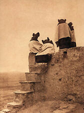 Hopi Women 15x22 Edward S.Curtis Native American Art Photo Hand Numbered Edition