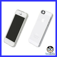 POWER SUPPORT Air Jacket Case & Screen Protection Film for iPhone 5/5s/SE, Clear