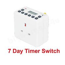 12/24 Ora 7 Giorni LCD digitale elettronica plug-in TIMER PROGRAMMABILE SWITCH SOCKET