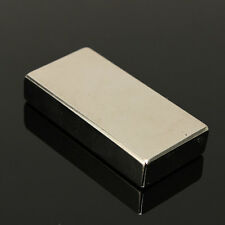 N52 Large Neodymium Block Magnet Strong Rare Earth 50mm x 25mm x 10mm Magnets