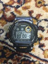 Casio W-735H Vibration Alarm Watch Super Illuminator