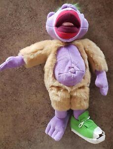 "Jeff Dunham Collectible 18"" Talking Peanut Green Shoe Plush Doll TESTED WORKING"