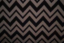 Chevron #07 Bullet Print Fabric Double Knit Stretch Polyester Lycra Spandex BTY