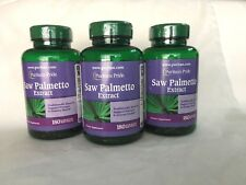540 Softgels Puritan's Pride Saw Palmetto Extrac **Mens Prostate Urinary Health*