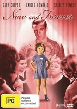 Now and Forever 1934 Shirley Temple Gary Cooper DVD R4