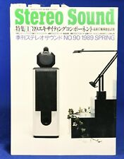 Stereo Sound #90 Spring 1989  Japanese High End Audio Magazine in Japanese