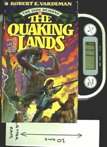 The Quaking Lands - PB 1st Ed by Robert E Vardeman
